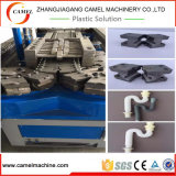 Пластичная производственная линия трубы из волнистого листового металла машины PE/PVC/PP штрангпресса одностеночная
