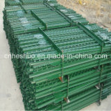 Fabrik Wholesale ISO Painted Green und Galvanized Studded T Post Peach Post 3D Wire Mesh Model