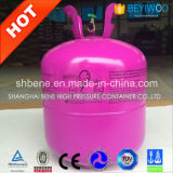 Frasco de gás do hélio para o uso do balão