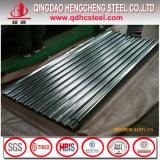 Folha de aço galvanizada da telhadura do preço de fábrica para o material de construção