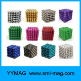 Formato de esfera esfera magnética de neodímio de 5 mm Neo Cube