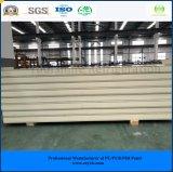 ISO、SGSは涼しい部屋の冷蔵室のフリーザーのための50mm電流を通された鋼鉄Purサンドイッチ(速合いなさい)パネルを承認した