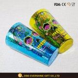 Heiße Verkaufs-Liter-Gläser mit Farben-Spray und überzogen