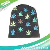 100% acrylique jacquard coloré Beanie Hat/Cap d'hiver en bonneterie (028)