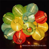 Solar 10LED Lanterna chinesa Garden String Lights (RS1012)