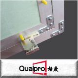 Placa de yeso de aluminio con incrustaciones en el panel de acceso para suspender el techo AP7730