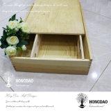Boîte en bois faite sur commande à vin de Hongdao pour six bouteilles Wholesale_F