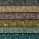 Tissu de teinture de sofa de filé tissé par polyester de coton