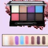 Professionnel Glitter Eye Shadow Palette Longue durée d'ombre à paupières matte avec brosse Es0332