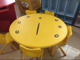 調節可能な子供のチェアーテーブルの円形の大きい子供のチェアーテーブルの幼稚園の家具