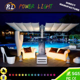 색깔 변화 바 시트 빛을내는 LED 2 시트 소파