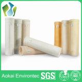 Sachets filtre non tissés de collecteur de poussière du composé PTFE de fibre de verre de température élevée