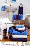 Van de Katoenen van 100% Reeksen van de Handdoek Jacquard van het Garen de Geverfte
