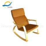 (TXRC-04) Brown PU-Gewebe-Walnuss-Arm-Stuhl-Möbel
