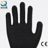 Акриловая Napping перчатка безопасности латекса подкладки Coated