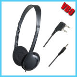 Airline Headset duplo Pin / Único Pin Headphone