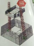 큰 수직 Transprotation에 사용되는 새로운 쌍둥이 돛대 단면도 물자 엘리베이터