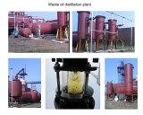 Plástico à área de funcionamento diesel da economia da planta 10tpd da refinação