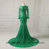Вечерние платья длинные втулки Русалки кружева формальной стороной одежды