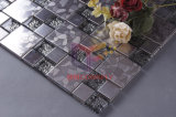Steel inoxidable avec Pattern Mix Crystal Glass Mosaic (CFM764)