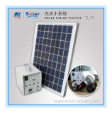 Tuv-CER RoHS MCS kleines Sonnensystem der Bescheinigungs-10 W für die kampierende Reisenund Gleichstrom-Versorgung (SYED-SS10W)