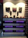 Welbom LEDのストリップの光沢度の高い食器棚デザイン