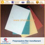 Fibra de la resistencia UV de alta resistencia de polipropileno fibrilada