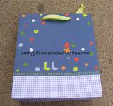 Bolsa de papel impresa diseño del regalo del dinosaurio
