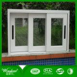 Двойные стекла и низким-E стекла боковой сдвижной UPVC окна