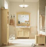 Muebles de madera natural de los conjuntos de cuarto de baño natural