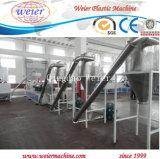 Línea plástica de la máquina del estirador para la fabricación de los gránulos de WPC