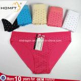 Cinghie delle piccole dei puntini di disegno del banco delle ragazze del cotone donne all'ingrosso della biancheria intima