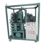 Macchina del filtro dell'olio del trasformatore del sistema di due vuoti