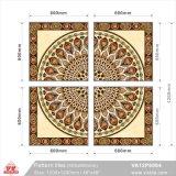 Suelos de baldosas de cerámica de los materiales de construcción alfombra mosaico (VA12P6064, 600x600mm+1200X1200mm)