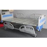4つのクランクの手動病院用ベッドの医学の生産