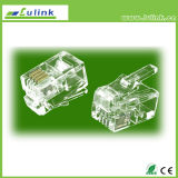 Good quality multi-type 8p8c gold Plated RJ45 Plug