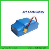Pack batterie électrique de lithium de scooter de 36V diplômée par UL 4.4ah Hoverboard