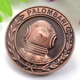Wholesale decorativos Souvenirs Personalizados Novedad reconocimiento de los empleados Don Oro y Plata monedas de cobre puro
