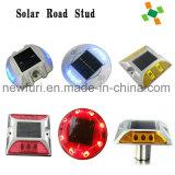 Goujon solaire en plastique de route de plots réflectorisés de l'inscription DEL de voie