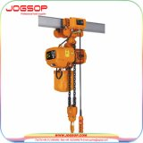 Élévateur à chaînes électrique de la tonne 1-5 industrielle avec le chariot