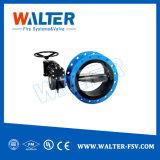 Aplicação de água Tipo operado da Engrenagem Sem Válvula Borboleta de alto desempenho