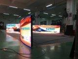 創造的なSMD P4mm適用範囲が広く柔らかいLED表示スクリーン