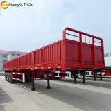 半工場価格3の車軸棒の側面パネルの貨物トレーラー