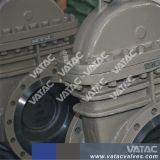Valvola a saracinesca serrata dell'acciaio di getto del cofano (Z41W)