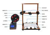 La plus grande imprimante facile de la vente en gros DIY 3D d'Assemblée de la mode 5mins de taille d'impression d'Anet