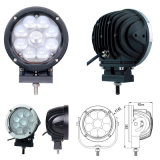 Jeep SUV Boat Truck Offroad Fog Driving Light 12V24V를 위한 7 인치 크리 말 LED Driving Light Auto 4X4