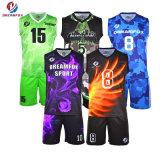 Diseño personalizado de Baloncesto Jersey sublime al por mayor camisetas de baloncesto para los hombres