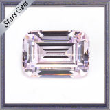 반지를 위한 최상 밝은 분홍색 입방 지르코니아 합성 다이아몬드