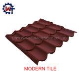Einfaches Aufbau-Stein-überzogenes Metallmoderne Dach-Fliese