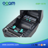 Ocbp-007b-U 4 pulgadas de la Impresora Térmica de etiquetas de código de barras de color negro.